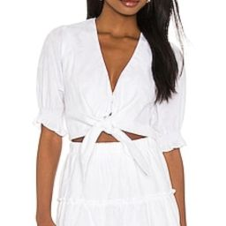 Kimmy Tie Top                                          Show Me Your Mumu | Revolve Clothing (Global)