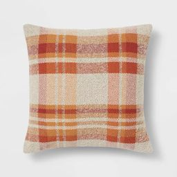 Plaid Square Throw Pillow - Threshold™ | Target
