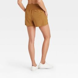 Women's Knit Waist High-Rise Stretch Woven Shorts - All in Motion™ | Target