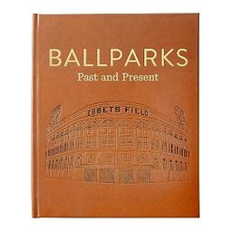 Leather Ballparks Coffee Table Book   Pottery Barn (US)