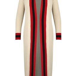 Plus Stripe Maxi Length Cardigan | Boohoo.com (US & CA)