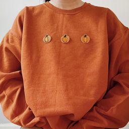 Pumpkin Sweatshirt Vintage Halloween Sweatshirt  Pumpkin   Etsy   Etsy (US)