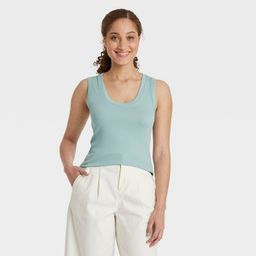 Women's Slim Fit Tank Top - A New Day™   Target