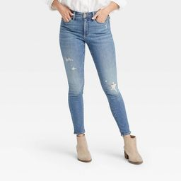 Women's High-Rise Skinny Cropped Jeans - Universal Thread™   Target