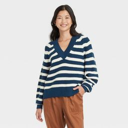 Women's V-Neck Pullover Sweater - A New Day™ | Target