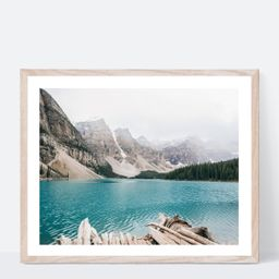 Lake Moraine Banff Canada Photography Print for Gallery Wall | Etsy | Etsy (US)