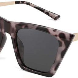 FEISEDY Vintage Polarized Square Cat Eye Sunglasses Women Trendy Fashion Cateye Polarized Sunglas...   Amazon (US)