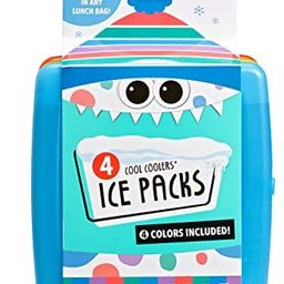 Fit + Fresh Cool Coolers Slim Ice Packs, Reusable Ice Packs for Lunch Bags, Beach Bags, Coolers, ... | Amazon (US)