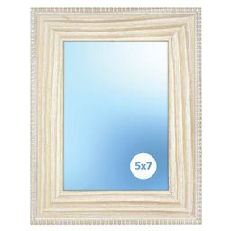 Beaded Wood Blonde Table Top Frame, 5x7 Inch | Walmart (US)
