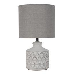 Better Homes & Gardens Diamond Weave Table Lamp, Distressed White   Walmart (US)