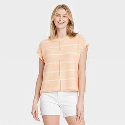 Women's Crewneck Extended Shoulder Sweater Vest - Universal Thread™ | Target
