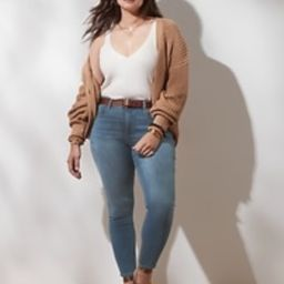 Mid-Rise Soft Touch Medium Wash Skinny Jean | Banana Republic Factory