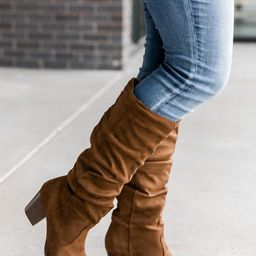 Angela Brown Boots | The Pink Lily Boutique