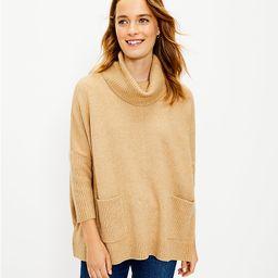 Pocket Poncho Sweater | LOFT