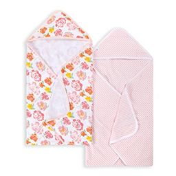 Burt's Bees Baby - Hooded Towels, Absorbent Knit Terry, Super Soft Single-Ply, 100% Organic Cotto... | Amazon (US)