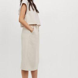 Sweatshirt Skirt   H&M (US)