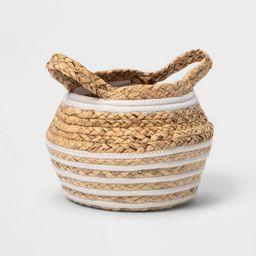 Water Hyacinth and Coiled Rope Storage Bin - Pillowfort™   Target