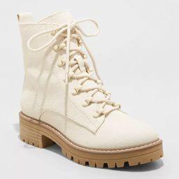 Women's Parker Combat Boots - Universal Thread™ | Target