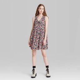 Women's Sleeveless Babydoll Dress - Wild Fable™   Target