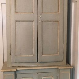 Antique  pine French cabinet   Etsy (US)
