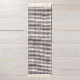 Textured Stripe Area Rug - Hearth & Hand™ with Magnolia   Target