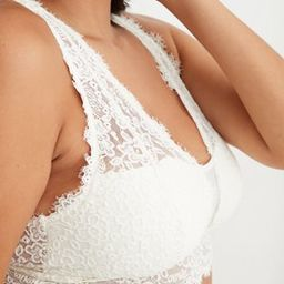 Aerie Eyelash Lace Plunge Bralette   American Eagle Outfitters (US & CA)
