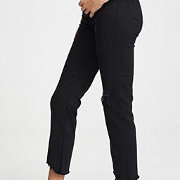 724 Straight Crop Jeans | Shopbop