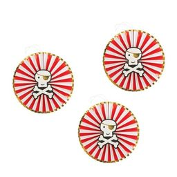 3ct Pirate Cove Party Decoration Paper Fan - Spritz™   Target