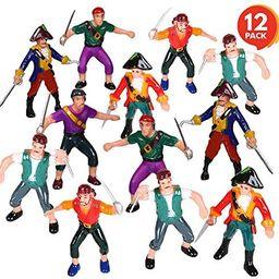 ArtCreativity Pirate Action Figures - Pack of 12 - Legendary Plastic Figures - Fun Pirate Party F...   Amazon (US)