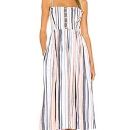 Free People Lilah Pleated Tube Dress in Multi from Revolve.com | Revolve Clothing (Global)