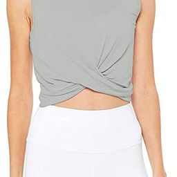 Bestisun Womens Cropped Workout Tops Flowy Gym Workout Crop Top Athletic Yoga Shirts Dance Tops   Amazon (US)