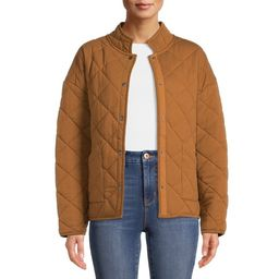 Time and Tru Women's Quilted Jacket | Walmart (US)