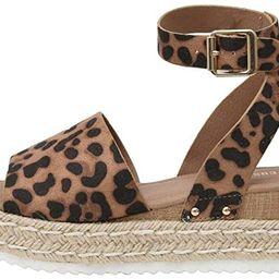 Women's Cushionaire Espadrille Flatform Open Toe Sandal   Amazon (US)