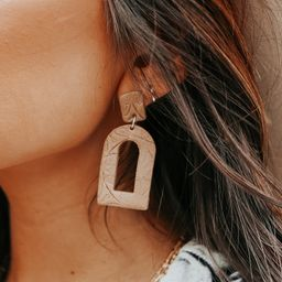 Textured Clay Statement Earrings | Magnolia Boutique