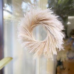 Pampas Grass Wreath  The original pampas wreath-Dried flower | Etsy | Etsy (US)