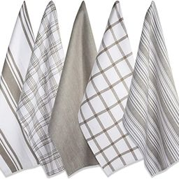"""DII Kitchen Dish Towels (Brown, 18x28""""), Ultra Absorbent & Fast Drying, Professional Grade Cotton...   Amazon (US)"""