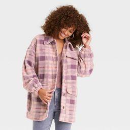 Women's Plaid Shirt Shacket - Universal Thread™   Target