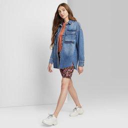 Women's Shirt Jacket - Wild Fable™   Target