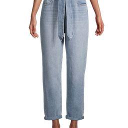 Joe's Jeans Women's The Brinkley Paperbag Jeans - Tatra - Size 32 (10-12)   Saks Fifth Avenue OFF 5TH