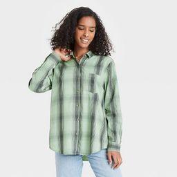 Women's Long Sleeve Button-Down Shirt - Universal Thread™ | Target