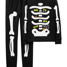 Adult 2-Piece Glow Halloween Skeleton 100% Snug Fit Cotton PJs | Carter's