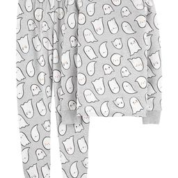 2-Piece Adult Unisex Halloween Ghost 100% Snug Fit Cotton PJs | Carter's