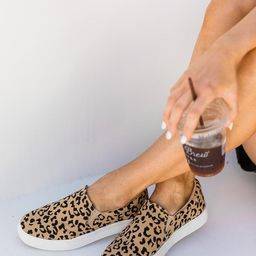 The Abigail Leopard Tan Sneaker   The Pink Lily Boutique