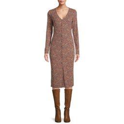 Sunset & Sixth Juniors' Button Down Knit Dress | Walmart (US)