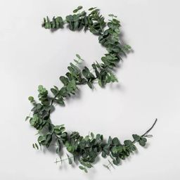 6' Faux Eucalyptus Garland - Hearth & Hand™ with Magnolia   Target