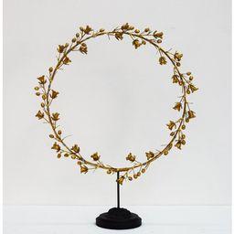 Bell Flower Wreath on Stand | Wayfair North America