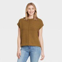 Women's Crewneck Extended Shoulder Sweater Vest - Universal Thread™   Target