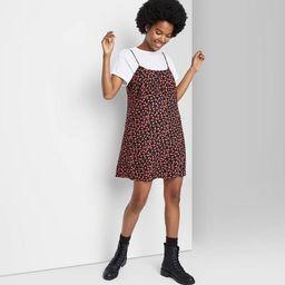Women's Woven Slip Dress - Wild Fable™   Target