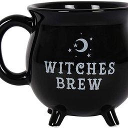 Pacific Giftware Witches Brew Black Ceramic Cauldron Mug   Amazon (US)