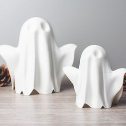 Model Ghost Figure | Cute Spooky Ornament | Halloween Decor | 3D Printing | Sawford Design Studio | Etsy (US)